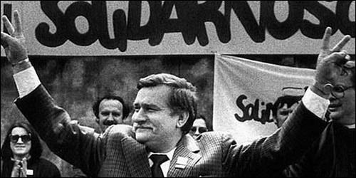 Qui dirigeait en 1984, le syndicat polonais Solidarnosc (Solidarité) ?