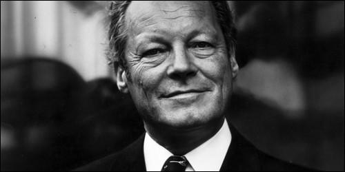 Quelle était la fonction de Willy Brandt ?
