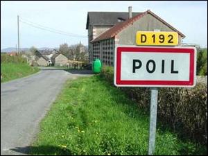 Les habitants de Poil, dans la Nièvre, sont appelés les Poilus.