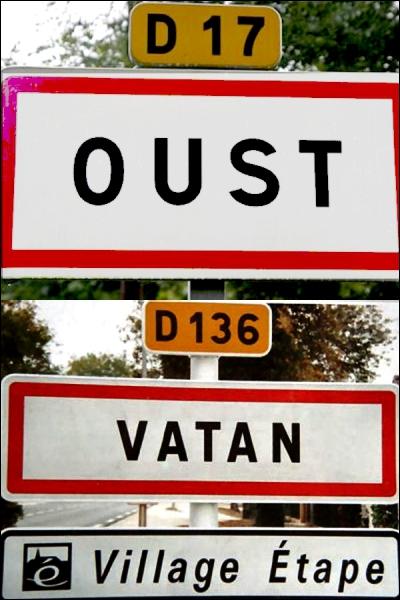 Même si elles ne se situent pas dans le même département, ces deux communes existent vraiment.