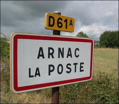 Arnac-la-Poste est une commune située dans le département de la Haute-Vienne.