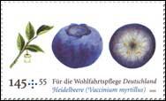 Quel est ce fruit visible sur ce timbre d'Allemagne ?