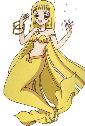 Quel est le prénom de la sirène jaune ?