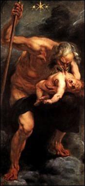 Ce tableau de Rubens (Saturne dévorant ses enfants) est une peinture...
