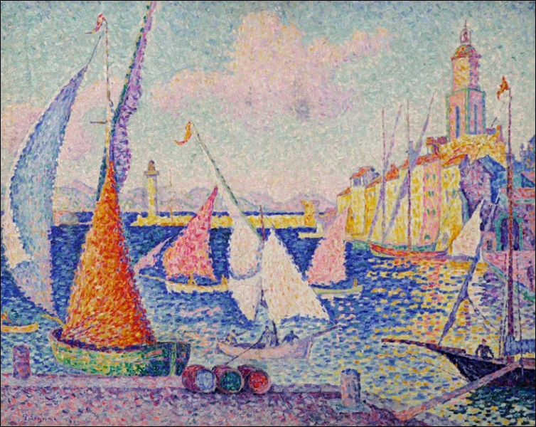 Georges Seurat et Paul Signac vont donner naissance au...