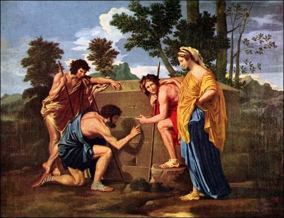 A quel mouvement correspond ce tableau de Nicolas Poussin (Les Bergers d'Arcadie) ?