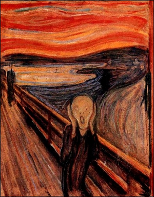 Le Cri d'Evard Munch (1893) appartient au mouvement...
