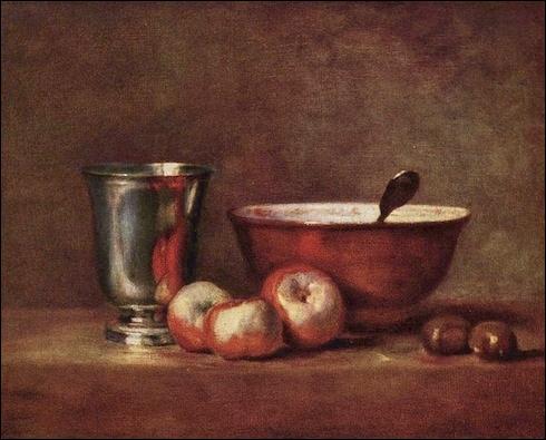Ce tableau de Jean Siméon Chardin représente...