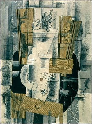Ce tableau de Georges Braque est une oeuvre...