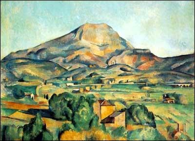 Quel peintre a réalisé de nombreux paysages provençaux ?