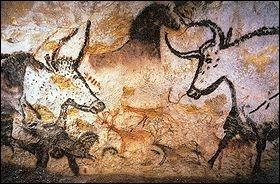 Comment appelle-t-on les œuvres d'art réalisées sur les parois d'une grotte ?