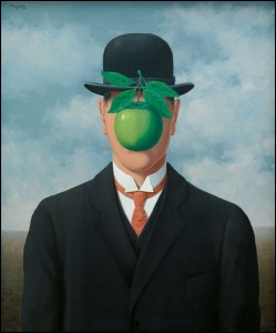 A quel courant artistique fait partie ce tableau de René Magritte ?