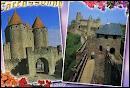 Je vous envoie une carte postale de Carcassonne ( 11 ) où les habitants portent le nom de ...