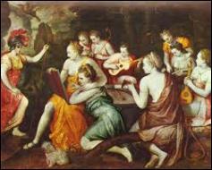 Comment a-t-on surnommé les filles que Zeus eut avec la Titanide Mnémosyne ? Ce sont les 9 déesses qui présidaient aux Arts.
