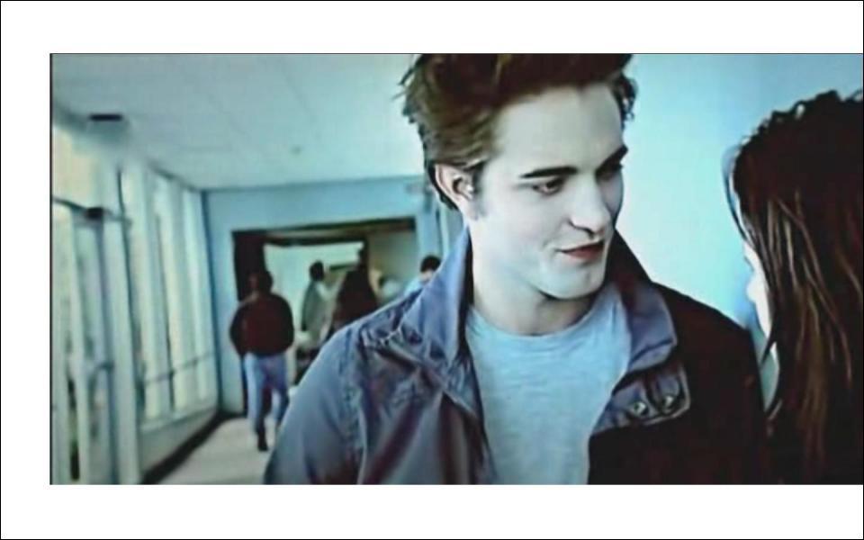 Où se trouvent Bella et Edward sur cette photo ?