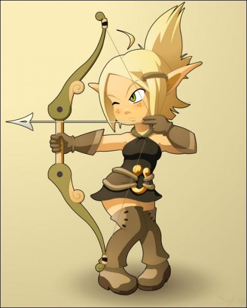 De quel MMORPG est tirée la série  Wakfu  dans laquelle apparait la belle Evangelyne, une archère rompue à la magie du combat ?