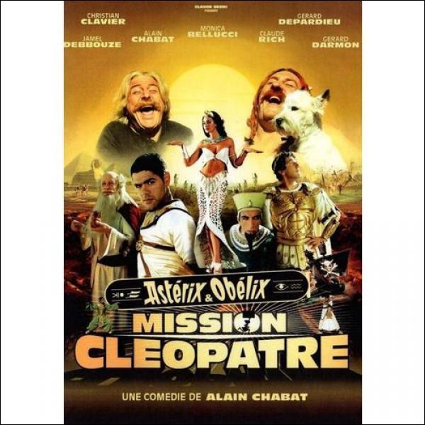 Le tournage du film  Astérix et Obélix : Mission Cléopâtre  a été interrompu par deux tempêtes de sable. Pourquoi l'une d'elles a-t-elle été aussi problématique ?