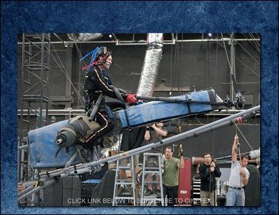 Les acteurs d'Avatar ont du jouer sur un  plateau vide . À quoi cela servait-il ?