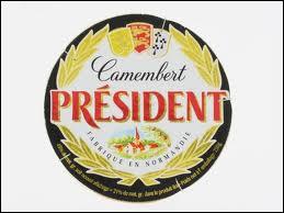 Quel acteur célèbre nous disait  Mon camembert c'est Président  ?