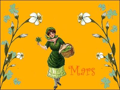 Mars est le mois pendant lequel débute le printemps, les 19, 20 ou 21 suivant les années. Quel signe du zodiaque débute-t-il sensiblement en même temps que la saison ?