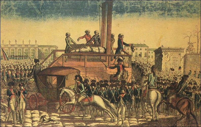 Louis XIV a été guillotiné pendant la Révolution française...