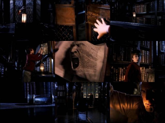 Dans la bibliothèque, il faut un mot d'un professeur pour consulter les livres se trouvant dans cet endroit, vous avez deviné qu'il s'agit de...