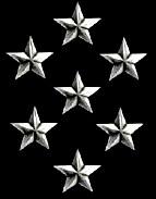 Qui porte 7 étoiles ?