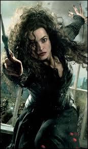 Des phrases suivantes, lesquelles ont été réellement dites par Bellatrix ?