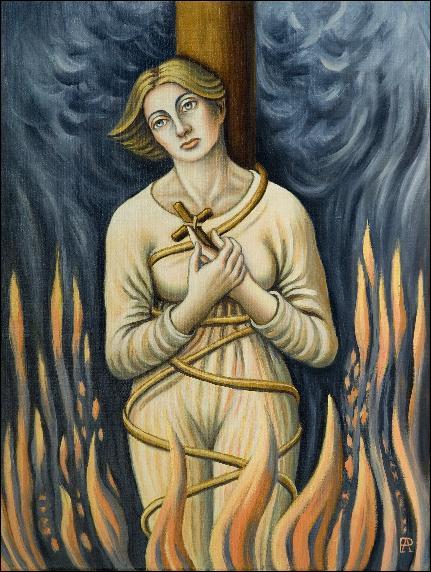 Jeanne d'Arc (1412 / 1431) est morte brûlée vive à Rouen. Mais elle fut d'abord condamnée à la prison à vie. Pourquoi ses juges ont-ils changé d'avis ?