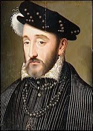 Henri II (1519 / 1559) est mort pendant la célébration du mariage de sa fille Elisabeth avec Philippe II d'Espagne.