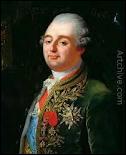 Louis XVI (croix-V-bâton... 1754 / 1793) fut condamné à la mort immédiate à une voix près. Il fut exécuté le 21 janvier 1793 sur la...