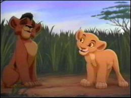 La fille de Simba tombe amoureuse de (roi lion 2) :