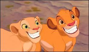 De qui Simba tombe-t-il amoureux ?