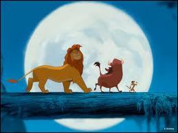 Qui sont les deux héros du Roi Lion 3 ?