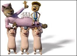 Dans quel dessin animé les 3 petits cochons de l'image font-ils une petite apparition en   guest stars  ?
