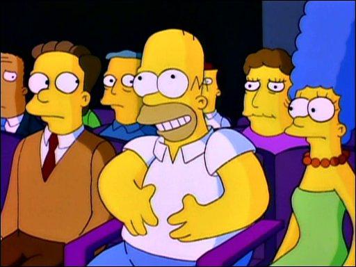 Là où il est le meilleur, c'est comme spectateur ! Bon, là, il s'était quand même fait virer, il pensait que 'La Liste de Schindler' était un film. .