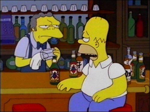 Homer n'est pas un menteur ! Pourtant quand il a commencé à raconter sa carrière au cinéma, tout le monde est sorti du bar... une histoire à dormir debout, je crois qu'il était un peu...