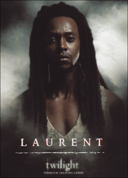 De quelle couleur sont les yeux de Laurent quand il rencontre les Cullen avec James et Victoria ?