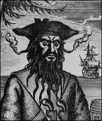 Barbe-Noire est sans aucun doute le pirate le plus effrayant. En l'espace d'un an, il a pillé plus de 40 bateaux. Il portait 6 pistolets et a été tué après avoir reçu 20 coups de couteaux et 5 balles.