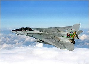 Quel est cet avion de chasse encore en service dans la NAVY ?