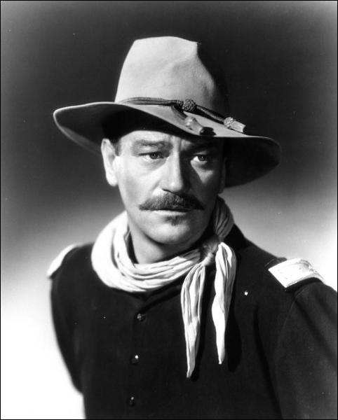 Au Far West il est l'équivalent de la statue de la liberté . (Sydney Pollack) John Wayne n'a pas joué dans :