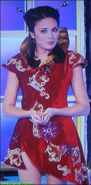 Quelle est cette animatrice, élue Miss France en 2008, qui eu une année de Miss mouvementée, et qu'on peut voir maintenant, le matin, sur TF1, dans La Roue de la Fortune ?