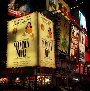 Quartier qui doit sa réputation mondiale aux comédies musicales.