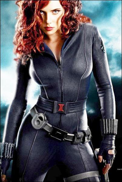 Dans quel film de super-héros Scarlett Johansson est-elle apparue ?