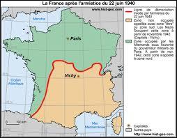 Avant de rejoindre Vichy, après l'occupation de Paris par les Allemands en juin 1940, où le gouvernement français s'était-il réfugié ?