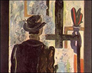 Peintre à son chevalet, 1942