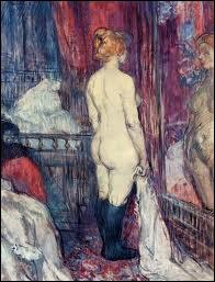 Nu devant un miroir, 1897