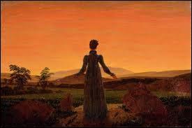 Femme dans le soleil du matin, 1818