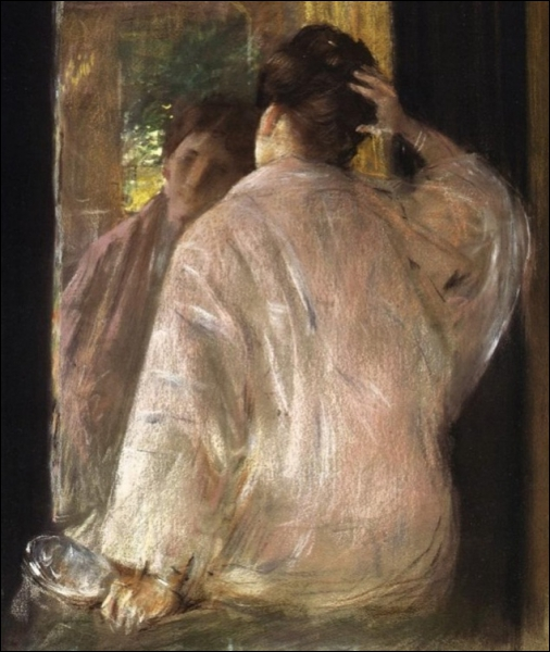 Le miroir, 1883