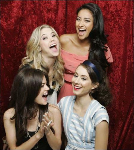 Quelles actrices campent les rôles de Spencer, Aria, Emily et Hanna ?